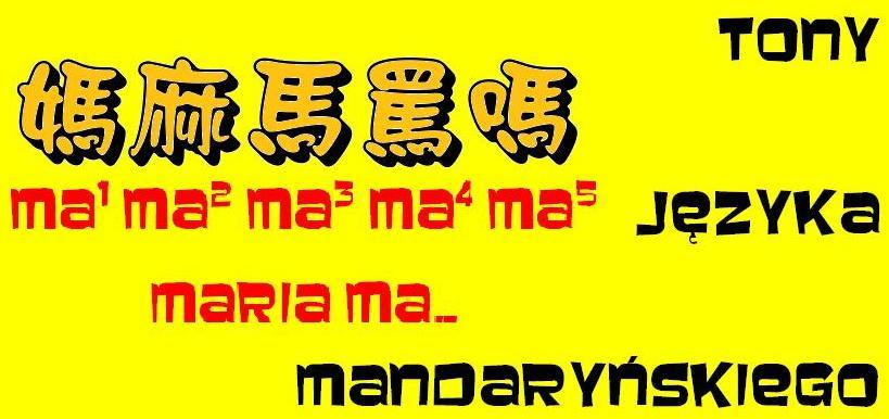 Tony języka mandaryńskiego