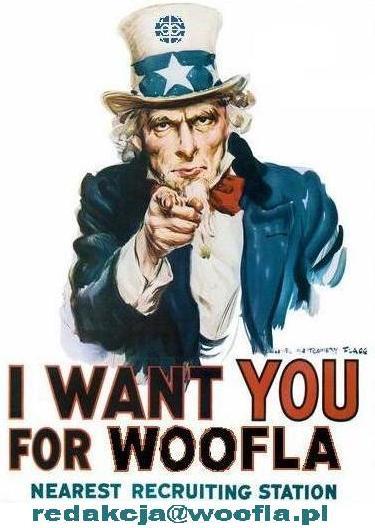 I want you for Woofla - dołącz do nas 2