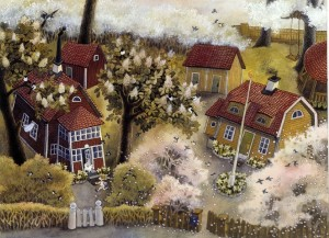 Ilustracja autorstwa Ilon Wikland