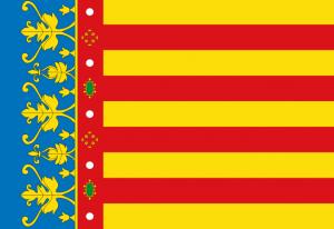 Flaga wspólnoty autonomicznej Walencji