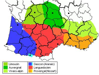 Dialekty oksytański