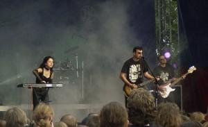 występ na Castle Party 2013