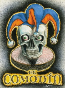 El Comodín. Bardzo meksykański joker. Autor: diablillo71