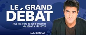 Program Le Grand Débat, emitowany przez radio Africa no. 1, to dyskusje na najważniejsze tematy z całego świata.